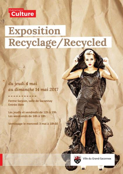 Flyer exposition recyclage 1